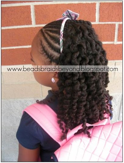 little girls braiding styles | Naturally Beautiful Hair: Update for Beads, Braids & Beyond