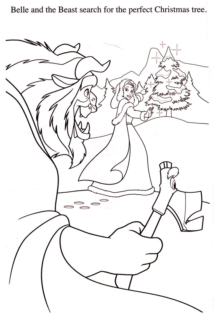 332 best beauty and the beast coloring pages images on pinterest