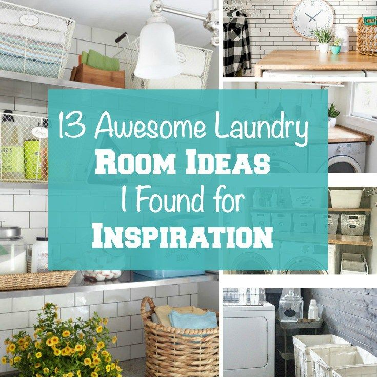 13 Awesome Laundry Room Ideas I Found for Inspiration