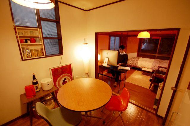 【Room Scope vol.50】橙の明かりに包まれた、ほっこりアパート