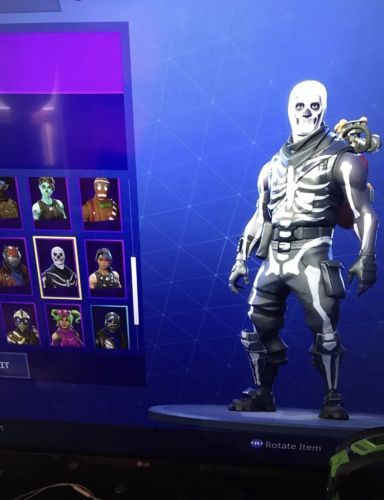 Fortnite Account With Skull Trooper And Ghoul Trooper Read
