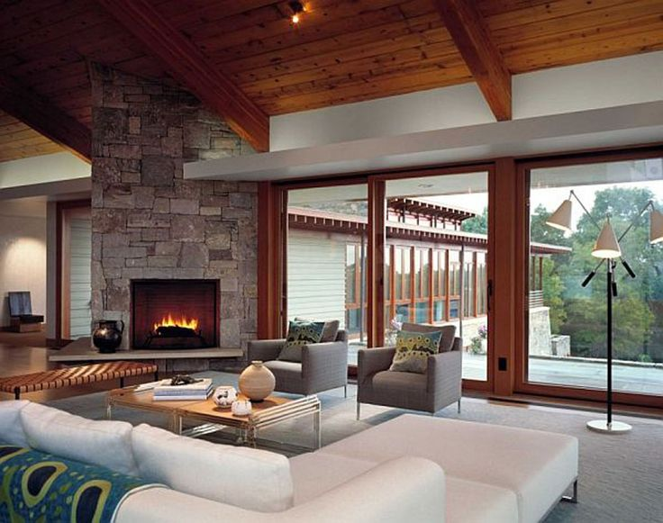 21 Living Rooms With Huge Picture Windows. Contemporary Living RoomsModern  Living Room ...
