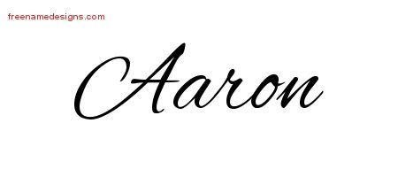 tattoos with the name aaron aaron cursive name tattoo designs free lettering tatted. Black Bedroom Furniture Sets. Home Design Ideas