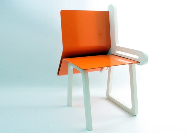OpenBook Chair Design by DEDE Dextrous Design
