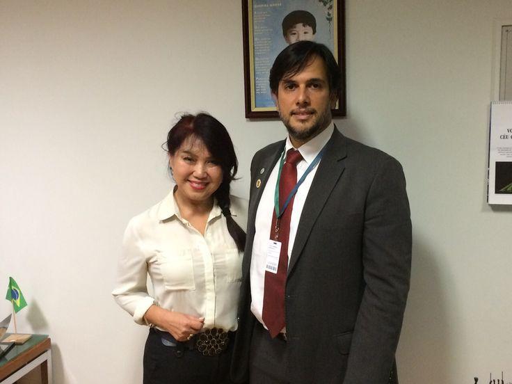 SINDIPOL/DF - SINDIPOL/DF se reúne com a deputada Keiko Ota