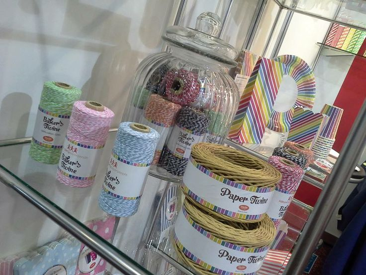 Showcasing the fab bakers twine from Sundays at the Autumn Gift Fair
