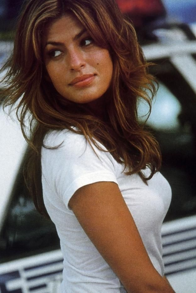 Eva Mendes: love her hair!!!