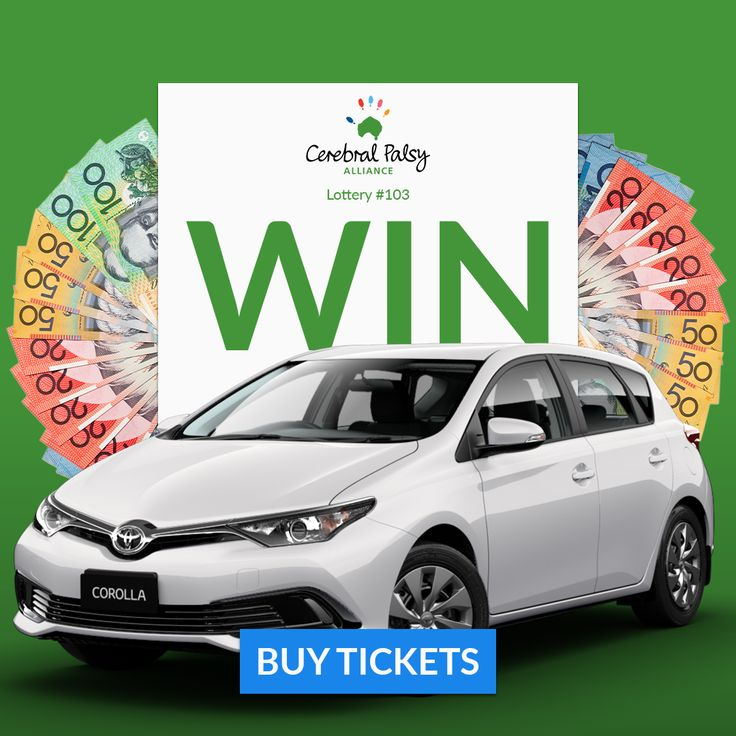 A brand new Toyota Corolla Ascent. BUY TICKETS NOW! https://aspirecharitygaming.com/cerebral-palsy-alliance-ra ……/ #lotterywin #charity #toyotacorolla #win