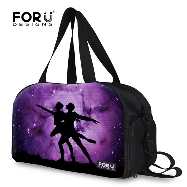 Спортивные сумки 2015 марка дизайнер холст спортивная сумка, Мода спортивная сумка женщины плеча сумки Bolsa фитнес Feminina