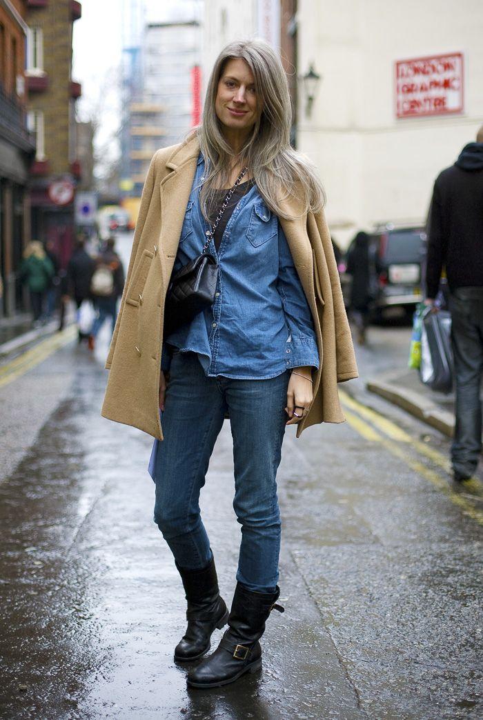 Sarah Harris, British Vogue, London
