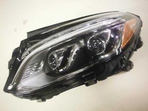 a driver left headlight fits 13 16 mercedes gl class 218
