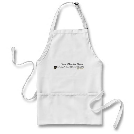 SAE Fraternity Brand Color Apron