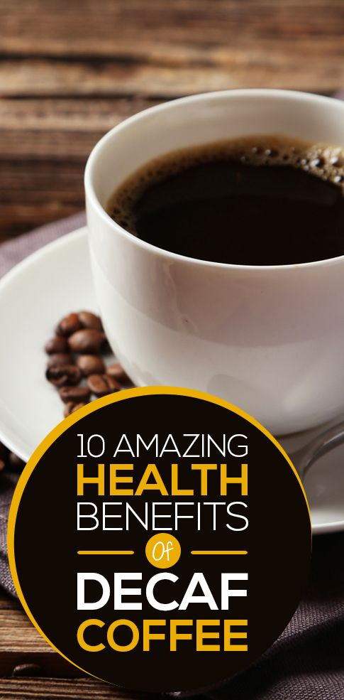 Decaf coffee comes with a host of health benefits. Would you like to know what they are? Go ahead with your read!
