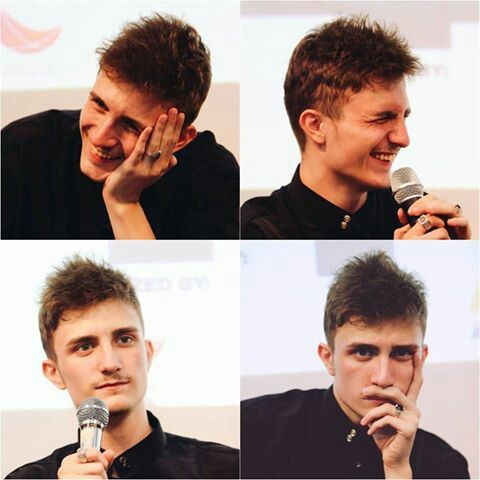 "A Hafidz. A Qari. And we can called him ""Fatih Seferagic"". This handsome guy can be our inspiration cause i think he has good behaviour so we can imitate his good behaviour, and ""Insha Allah"" we'll become a better person than before....... Amen..."