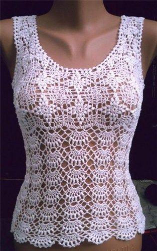crochet top pattern diagrams pattern pdf