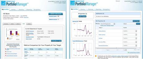 Portfolio Manager screenshots, ENERGY STAR