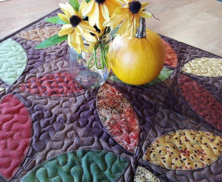 Fall Table Runner, Autumn Table Topper, Harvest Table Runner, Coffee Table  Topper, Fall Centerpiece