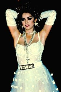 Madonna Fashion Exhibition Pops Up At Macy's