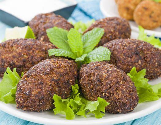 Kibbeh frito - Recetas - http://www.estampas.com/cocina-y-sabor/recetas/080110/kibbeh-frito