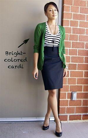 綺麗で可愛い!紺・ネイビーのスカートコーデ・着こなし海外画像 | Lifeinfo!