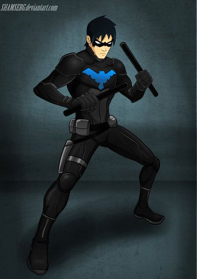 Best 706 nightwing images on pinterest geek - Pictures of nightwing from young justice ...