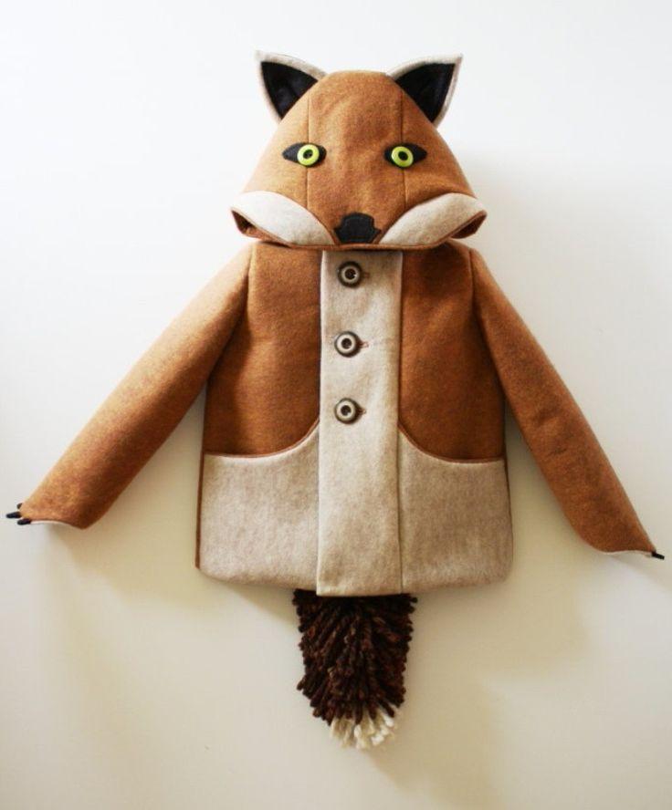 Fox coat idea for my pullip doll