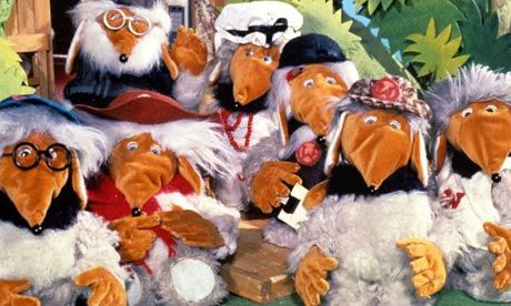 The Wombles of Wimbledon (coming) are we - that is what I sang anyway. I think it was the voices I loved so much about this programme. Just brilliant.