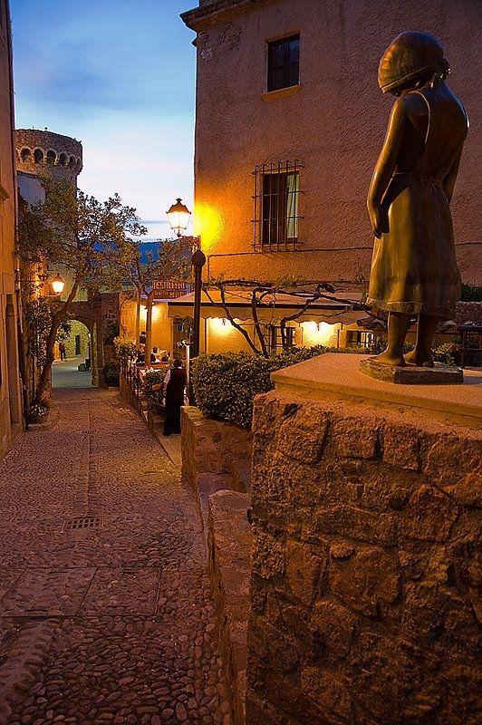 Tossa de Mar, Girona, Catalunya, Spain (I'm going on holiday here tomorrow!)