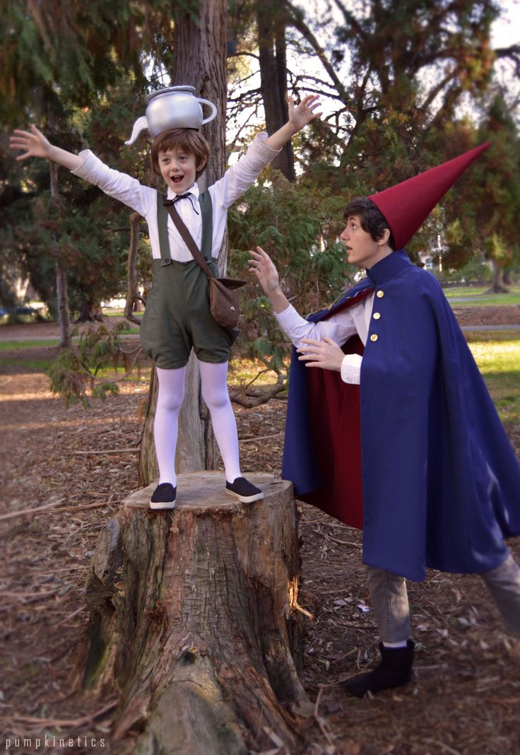 Over the Garden Wall from last Winter Sac Anime  Wirt - pumpkinetics  Beatrice - heartenedsoldier  Greg - heartenedsoldier's little brother