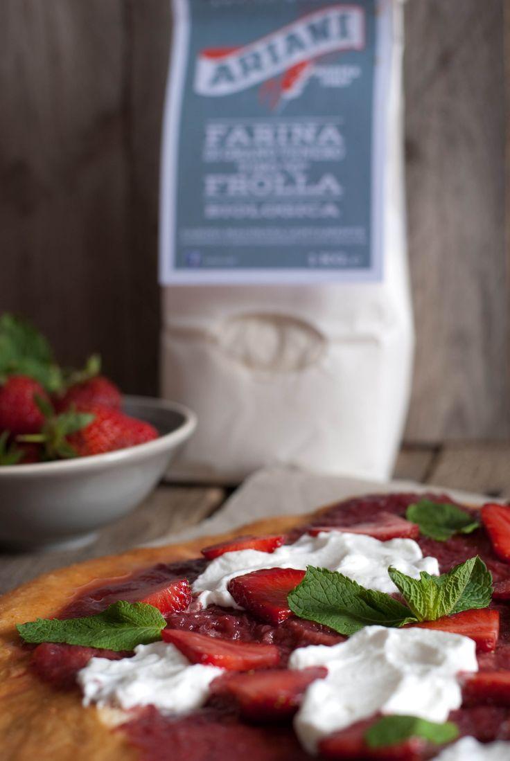 strawberry pizza farina Molino Ariani