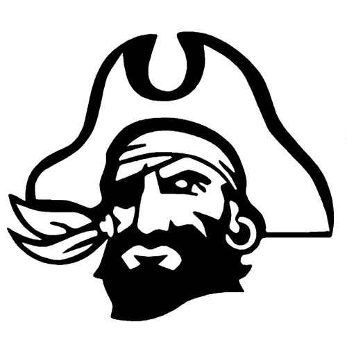 Pirate die cut vinyl decal pv227
