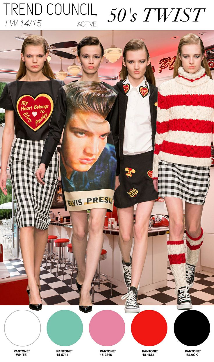 Future fashion trends 2014 - Active Themes 50 S Twist