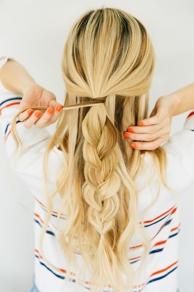 2 Braided Half-Updos That are Surprisingly Easy