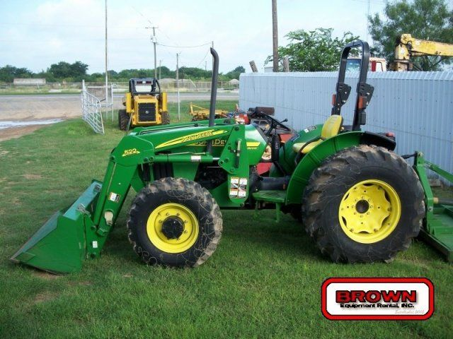 farm tractor | John Deere 5105 with JD522 Loader Attachment