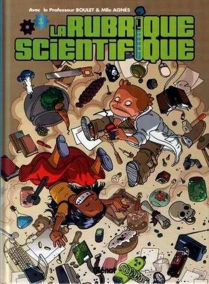 Raghnarok, Tome | Couverture de La rubrique scientifique -1- Tome 1