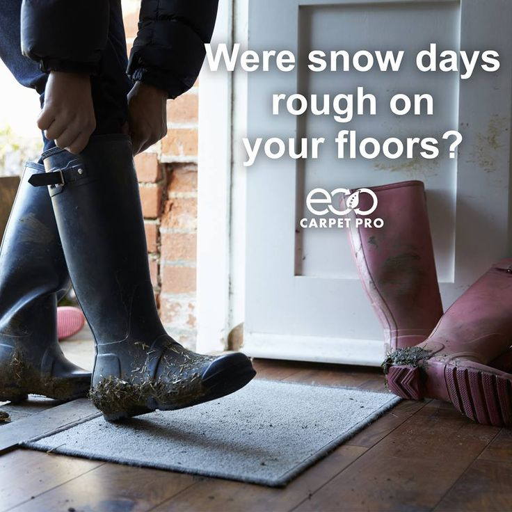 Were snow days rough on your carpets & floors? Now that the snow is gone and kids are back in school, you may be noticing salt and heavy traffic stains.  Don't worry we can help! http://bit.ly/ECPServices