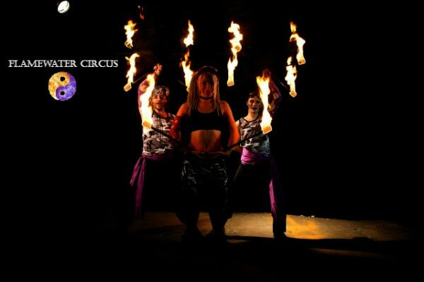 fire show Flamewater Militia Sydney Fire Twirlers Flamewater Circus #fireshow #fireperformance #firearts #firetwirling #firespinning #firedancing #fireeating #firebreathing #fire #circus #twirl #spin #dance #pyro #Sydneyfiretwirlers #firetwirlers #firespinners #firedancers #fireeaters #firebreathers
