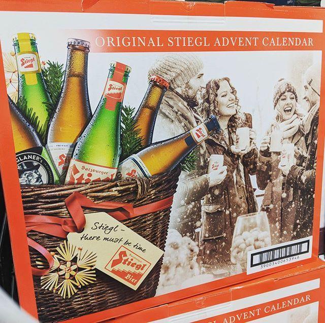 Beer advent calendar with @stieglcanada. 😚📆🎁🍻