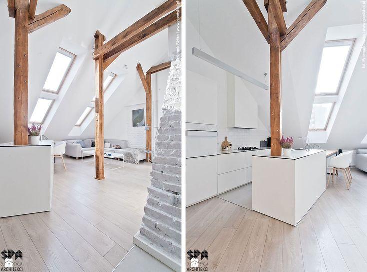 Attic Interior Design of an Apartment in Gliwice by Superpozycja Architekci-01