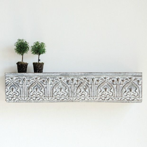 metal distressed wall shelf what to do with old stuff distressed rh pinterest com distressed metal wall shelves distressed wall shelf with hooks
