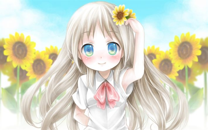 Download imagens Noumi Kudryavka, manga, personagens de anime, Little Busters