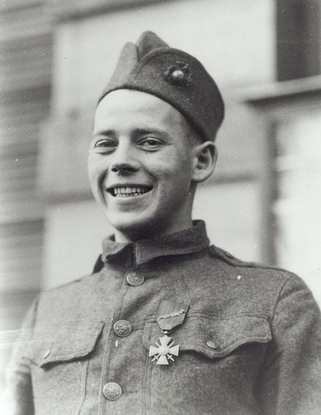 John Joseph Kelly (June 24, 1898-November 20, 1957) was a United States Marine who was awarded both the Army and Navy Medals of Honor[1] for his heroic actions on October 13, 1918 at the Battle of Blanc Mont Ridge, France during World War I. He was the last of the 19 two-time Medal of Honor recipients to have been alive.
