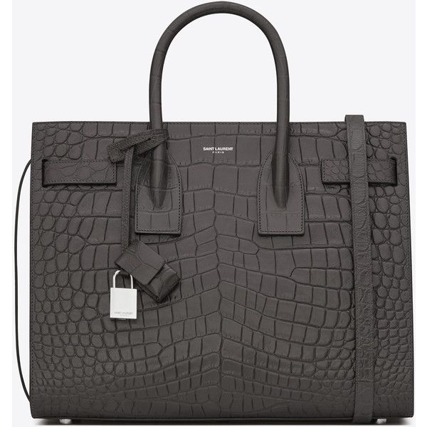 Saint Laurent Classic Small Sac De Jour Bag (100,135 THB) ❤ liked on Polyvore featuring bags, handbags, embossed handbags, yves saint laurent bags, yves saint laurent, embossed purse and yves saint laurent purse