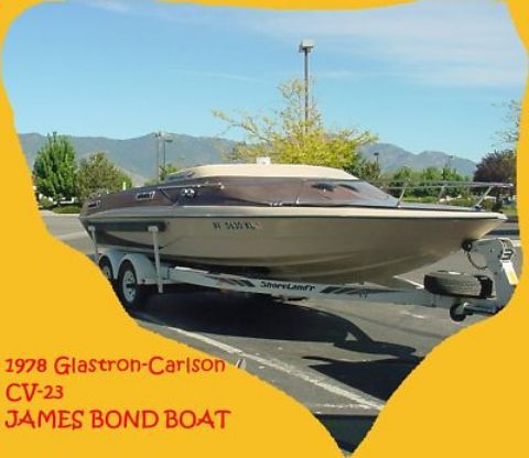 james bond glastron boats | boat vintage 1978 glastron carlson cv 23 james bond…