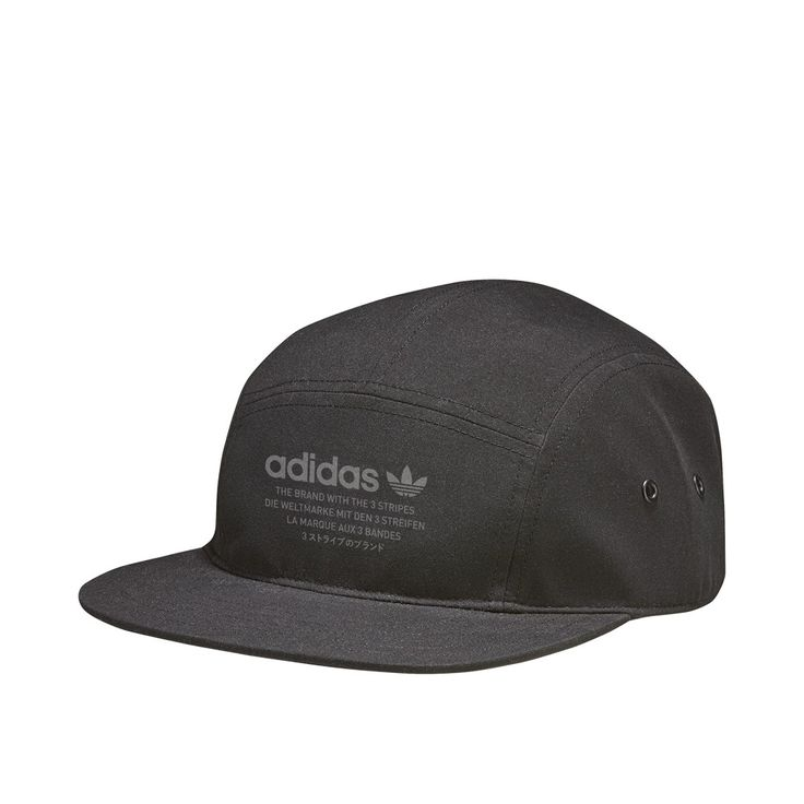 adidas Originals NMD 5 Panel Cap (black / black) - Buy online - thegoodwillout.com