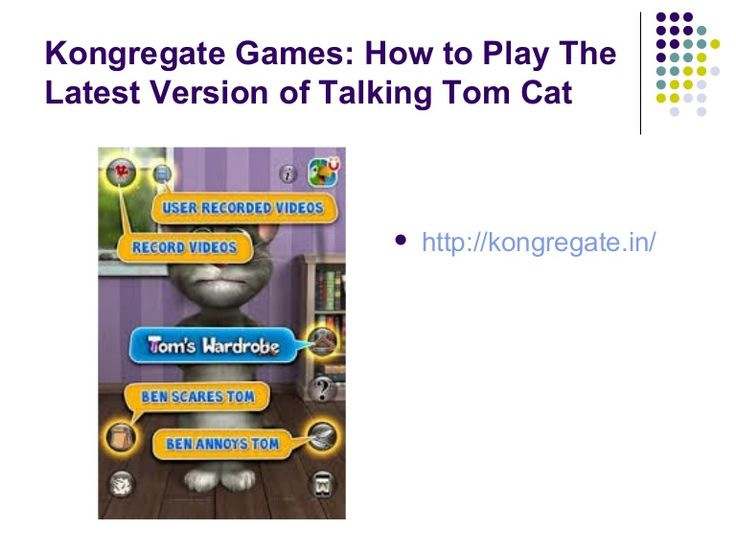 Talking Tom Cat 2 is now available in 8 different languages: English, German, Chinese, Japanese, Korean, French, Italian, Spanish and Portuguese.