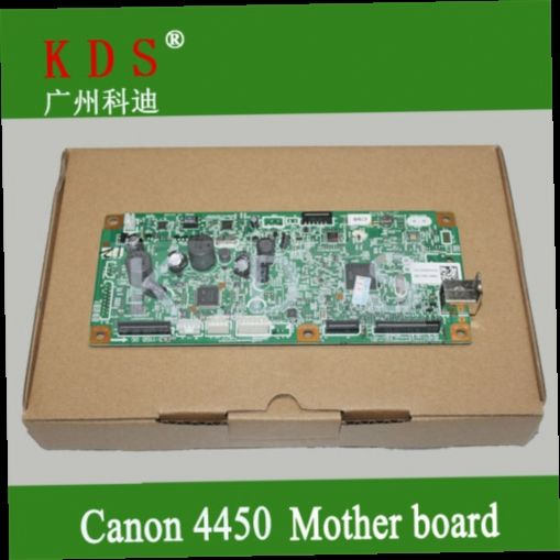 240.00$  Buy here - http://alitr5.worldwells.pw/go.php?t=32766115259 - Original mother board for canon MF4452 4450 formatter board for canon laser printer parts FM4-7282-000 remove from new machine