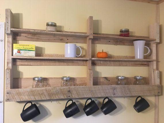 Las 25 mejores ideas sobre estante de tazas en pinterest - Estantes de cocina ...