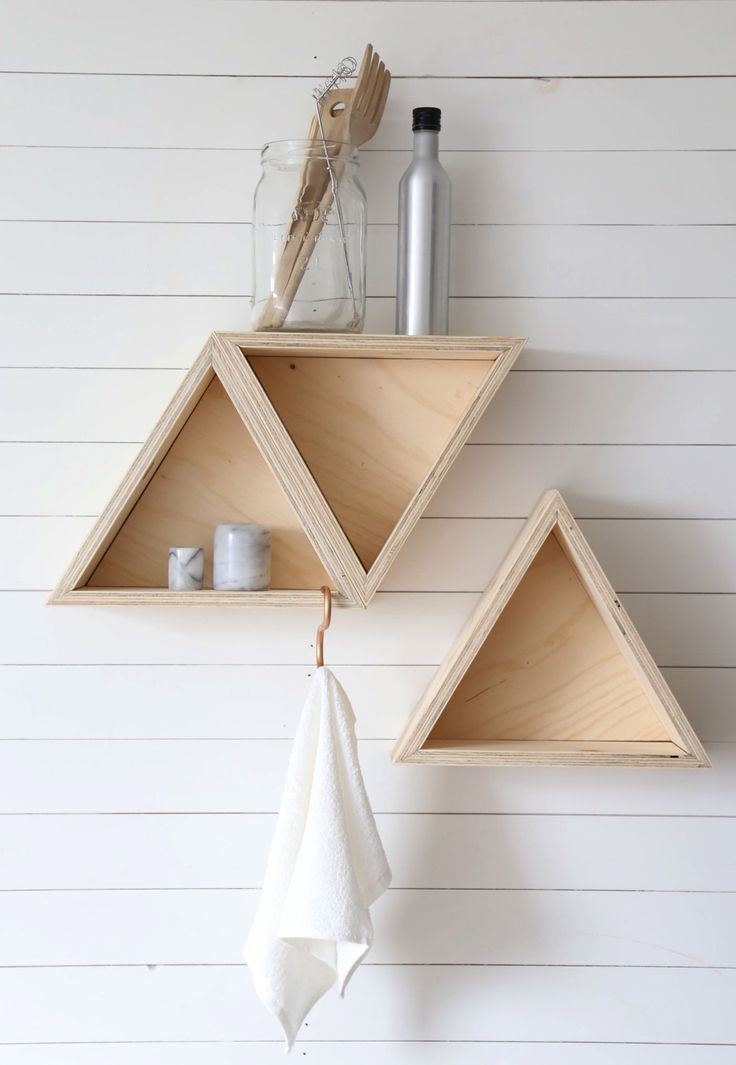 4 fantastically creative wooden shelves and racks in Bedroom, Living Room | Home | Hand Luggage Only