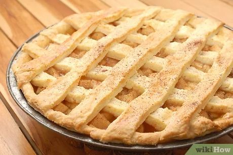 How to Bake an Apple Pie from Scratch (with Pictures) - wikiHow Apple Pie From Scratch, Lattice Top, Pie Pan, Pie Shell, Dough Balls, Egg Wash, Pastry Blender, Baking, Recipes
